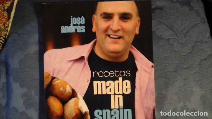 Recetas Made In Spain De José Andrés Sold Through Direct