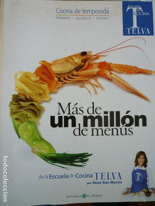 Mas de un millon de menus de la escuela de coci comprar libros de cocina y gastronom a en - Libro escuela de cocina ...