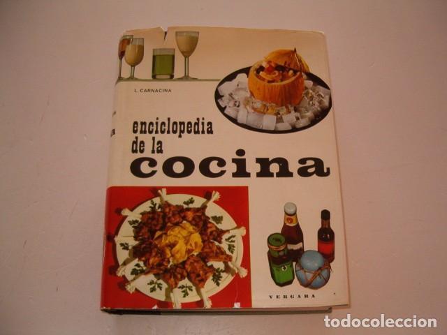 LUIGI CARNACINA. ENCICLOPEDIA DE LA COCINA. RM79637. (Libros de Segunda Mano - Cocina y Gastronomía)