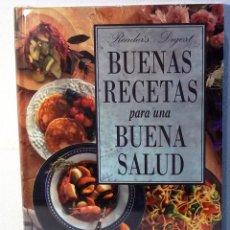 Libros de segunda mano: BUENAS RECETAS PARA UNA BUERNA SALUD - READERS DIGEST - PRECINTADO. Lote 81982832