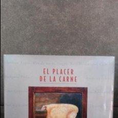 Libros de segunda mano: EL PLACER DE LA CARNE. DICCIONARIO GASTRONOMICO IMPRESCINDIBLE. BARRENA 2007 1ª EDICION TAPA DURA.. Lote 174175038