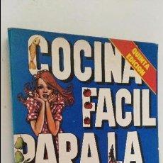 Libros de segunda mano: CHOLY BERRETEAGA : COCINA FÁCIL PARA LA MUJER MODERNA (PARA TÍ, 1979). Lote 84621252