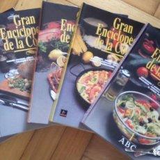Libros de segunda mano: GRAN ENCICLOPEDIA DE LA COCINA ABC 5 TOMOS. Lote 84637096