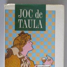 Libros de segunda mano: JOC DE TAULA // 150 RECEPTES CULINÀRIES DE RESTAURANTS SEL.LECCIONATS AL DIARI AVUI // 1989. Lote 85332276