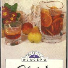 Libros de segunda mano: COCTELES - COLECCION ALACENA - SUSAETA EDICIONES - 106 COCTELES - VER FOTOGRAFIAS. Lote 86525760