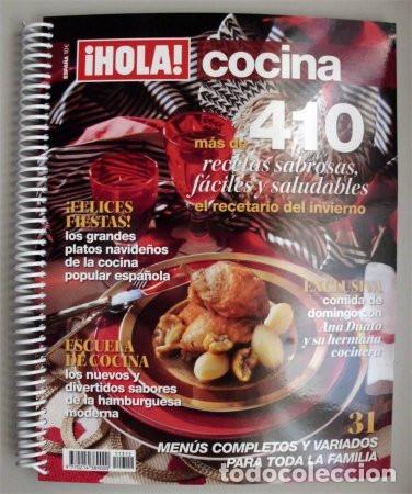 Hola Cocina Más De 410 Recetas Sabrosas Fácil Sold