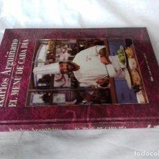 Livres d'occasion: EL MENU DE CADA DIA-KARLOS ARGUIÑANO-ED DIEZ SERBAL-SEGUNDA ED 1993 FOTOS INDICE Y CONTENIDO. Lote 169791458