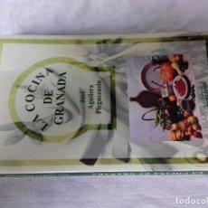 Libros de segunda mano: LA COCINA DE GRANADA-AGUILERA PLEGUEZUELO, JOSE-ED ARGUVAL 200-FOTOS INDICE Y CONTENIDO. Lote 87163820