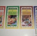 Libros de segunda mano: COCINA. LIBROS DE RECETAS SERVILIBRO, COMO PREPARAR (MARISCOS, PARRILLADAS, PESCADOS, VERDURAS). Lote 87185076