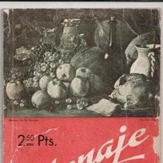 Libros de segunda mano: MENAJE, REVISTA MENSUAL DE COCINA Y HOGAR, Nº 131. NOVIEMBRE 1941. LA COCINA VEGETARIANA. Lote 87584928