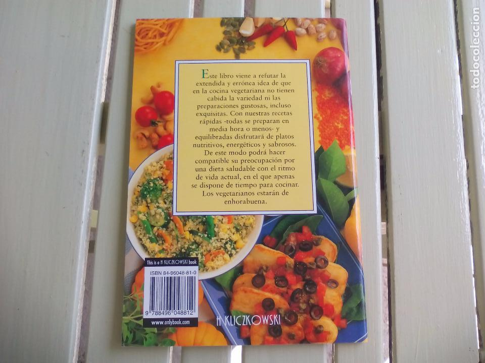 Cocina vegetariana r pida anne wilson h klic comprar for Libro cocina vegetariana