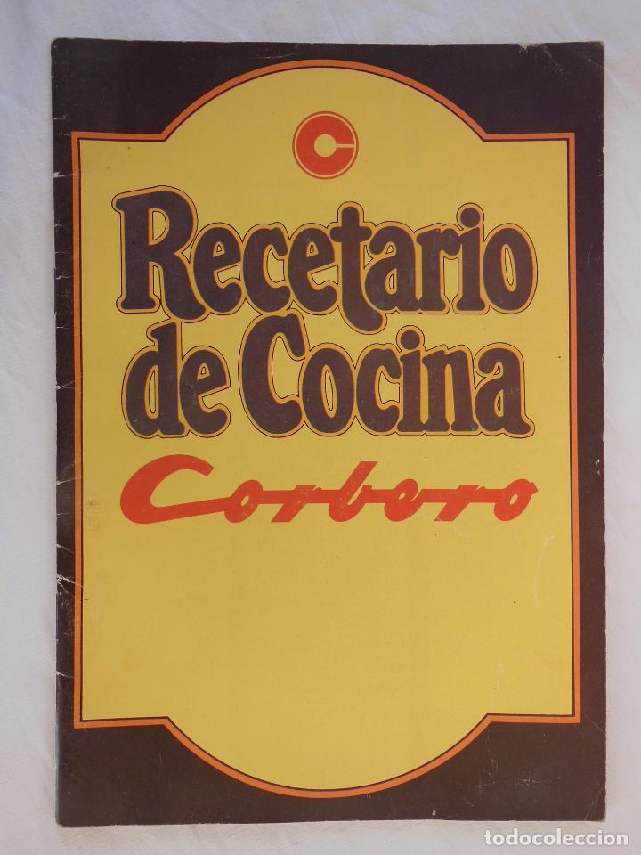 Recetario De Cocina.Recetario De Cocina Corberó 1977
