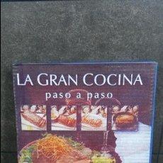 Libros de segunda mano: LA GRAN COCINA PASO A PASO. OCEANO. VV.AA. ILUSTRADA. EN SU CAJA DE EDITORIAL.. Lote 90422614