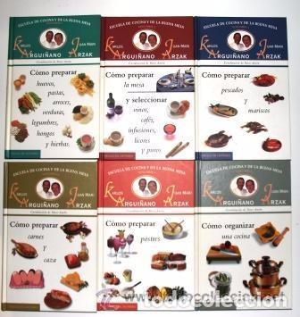 escuela de cocina y de la buena mesa (6 tomos), - Comprar Libros de ...