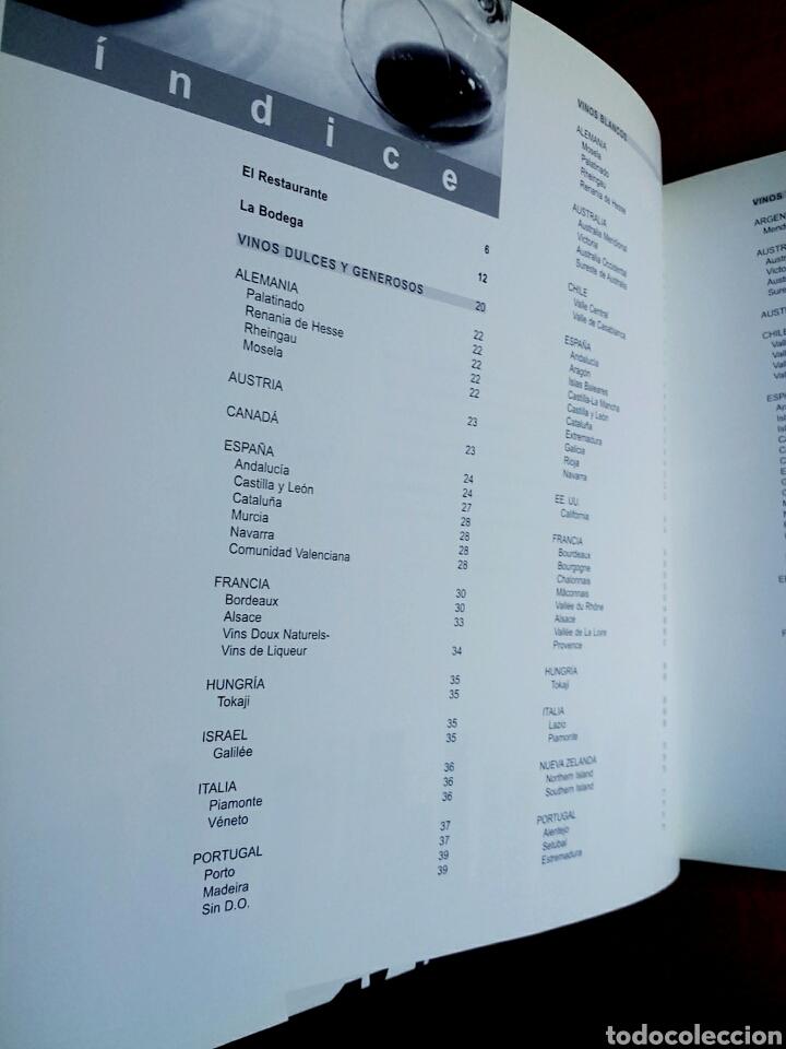 La bodega de atrio 2003 to o p rez vino carta comprar for Cocina restaurante segunda mano