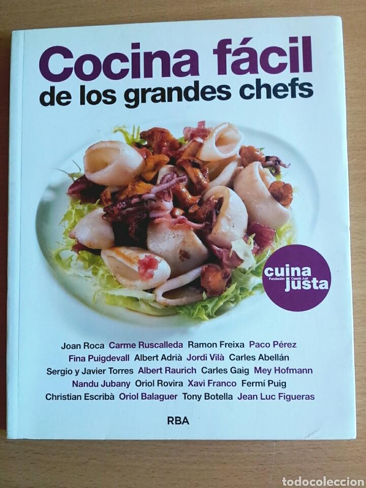 Cocina f cil de los grandes chefs roca rusca comprar for Libro cocina al vacio joan roca pdf