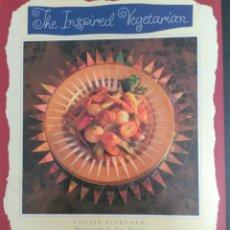 Libros de segunda mano: LIBRO. THE INSPIRED VEGETARIAN. LA VEGETARIANA INSPIRADA. TAPA DURA. LOUISE PICKFORD. Lote 93386404