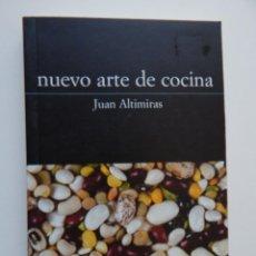 Libros de segunda mano: NUEVO ARTE DE COCINA - JUAN ALTIMIRAS, 2001. Lote 93242535