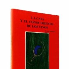 Libros de segunda mano: LA CATA Y EL CONOCIMIENTO DE LOS VINOS // M. RUIZ HERNÁNDEZ // EDICIONES A. MADRID VICENTE // 1995. Lote 53721205