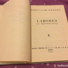 Libros de segunda mano: LABORES SU METODOLOGÍA. Lote 94692522