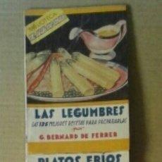 Libros de segunda mano: LOTE BIBLIOTECA EL AMA DE CASA (EDITORIAL MOLINO, 1945-1959). LOTE DE 33 NÚMEROS (VER DESCRIPCIÓN).. Lote 94807628