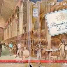 Libros de segunda mano: JOSÉ DE LAS CUEVAS : BIOGRAFÍA DEL VINO DE JEREZ (1949). Lote 95087163