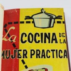 Libros de segunda mano: L-3426. LA COCINA DE LA MUJER PRACTICA, ELVIRA BLANCO DE NOMBELA, 1959.. Lote 95130499