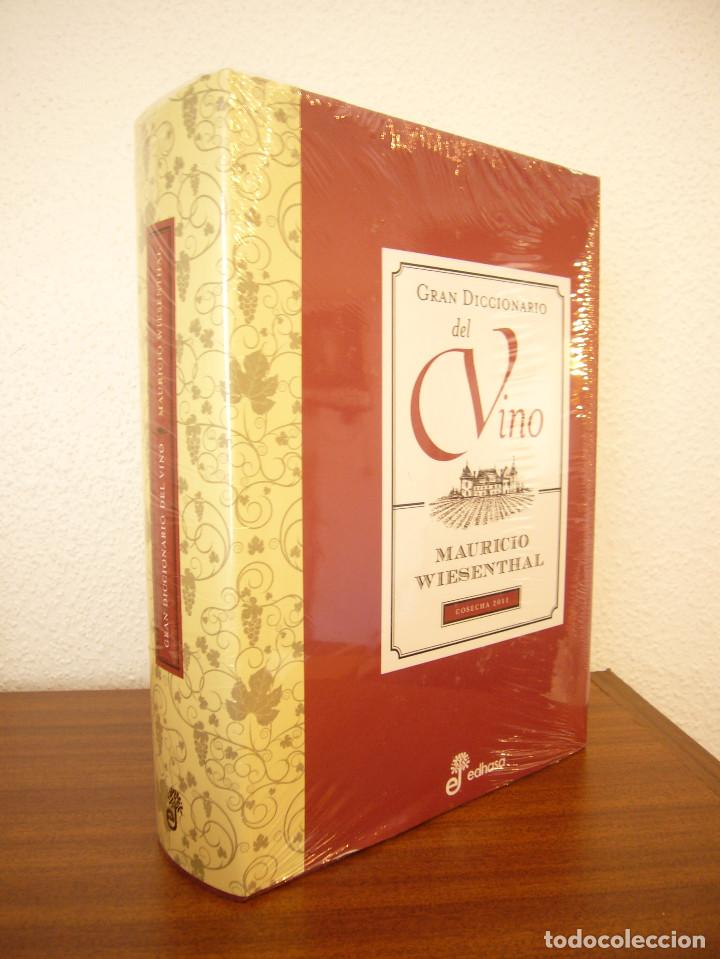 MAURICIO WIESENTHAL: GRAN DICCIONARIO DEL VINO (EDHASA, 2011) PRECINTADO. COMO NUEVO. (Libros de Segunda Mano - Cocina y Gastronomía)