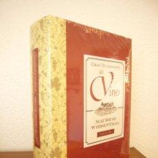 Libros de segunda mano: MAURICIO WIESENTHAL: GRAN DICCIONARIO DEL VINO (EDHASA, 2011) PRECINTADO. COMO NUEVO.. Lote 95472495
