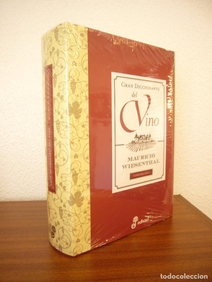 Libros de segunda mano: MAURICIO WIESENTHAL: GRAN DICCIONARIO DEL VINO (EDHASA, 2011) PRECINTADO. COMO NUEVO. - Foto 3 - 95472495