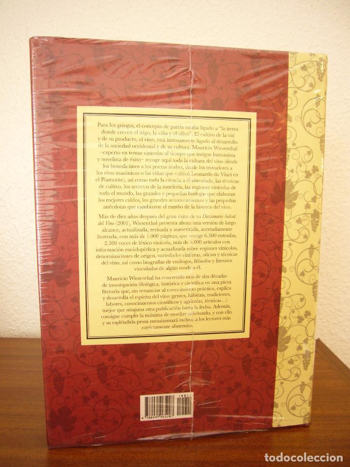 Libros de segunda mano: MAURICIO WIESENTHAL: GRAN DICCIONARIO DEL VINO (EDHASA, 2011) PRECINTADO. COMO NUEVO. - Foto 4 - 95472495