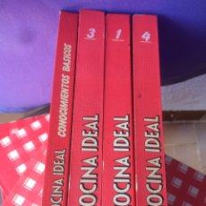 Libros de segunda mano: LA COCINA IDEAL VOL 4 FASCÍCULOS . COLECCIONABLES ENCUADERNADOS PLANETA 1983. Lote 95876140