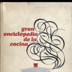 Libros de segunda mano: GRAN ENCICLOPEDIA DE LA COCINA. Lote 95879570