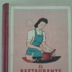 Libros de segunda mano: EL RESTAURANTE EN CASA. F. SEFAYA. Lote 96130263