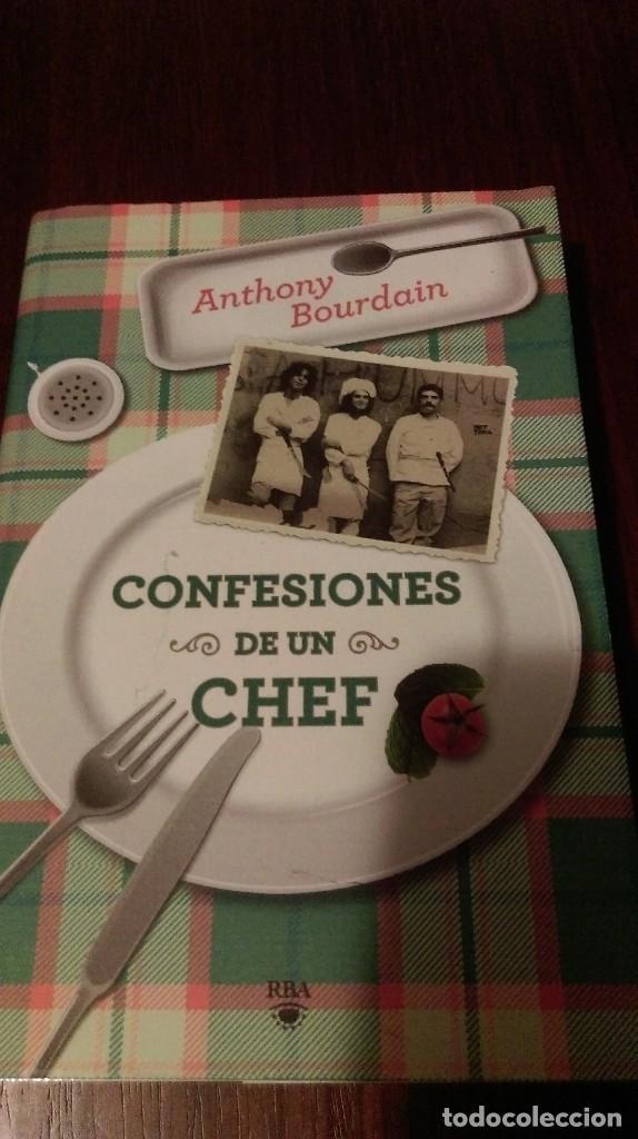 confesiones de un chef. anthony bourdain - Comprar Libros de cocina ...