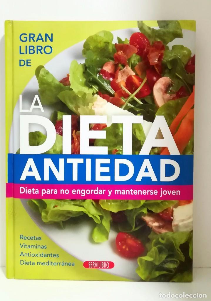 dieta antiedad para estar joven