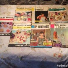 Libros de segunda mano: ANTIGUOS 6 LIBRO / LIBROS LA COCINA REGIONAL ESCRITO POR ISABEL DE TRÉVIS POR BIBLIOTECA AMA DE CASA. Lote 99213747