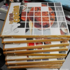 Libros de segunda mano: LA GRAN COCINA PASO A PASO / 10 TOMOS / EDICIONES RUEDA. Lote 227230155