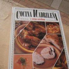 Gebrauchte Bücher - Libro Cocina Madrileña y cocina castellana 1989 Ed. Servilibro ART-613 - 101549483