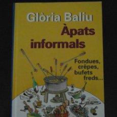 Libros de segunda mano: APATS INFORMALS. GLORIA BALIU. CERCLE DE LECTORS. MARC TAEGER I MARGARIDA KIRCHNER. 1996. DEBIBL. Lote 101780607