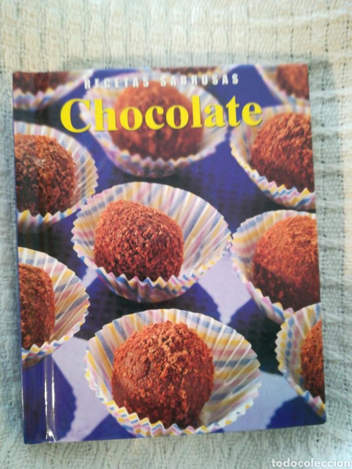 RECETAS SABROSAS CHOCOLATE (Libros de Segunda Mano - Cocina y Gastronomía)