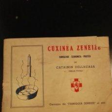 Libros de segunda mano: LIBRO RECETAS CURIOSO E INÉDITO ARGENTINO PERO EN ITALIANO 1945. Lote 103881583