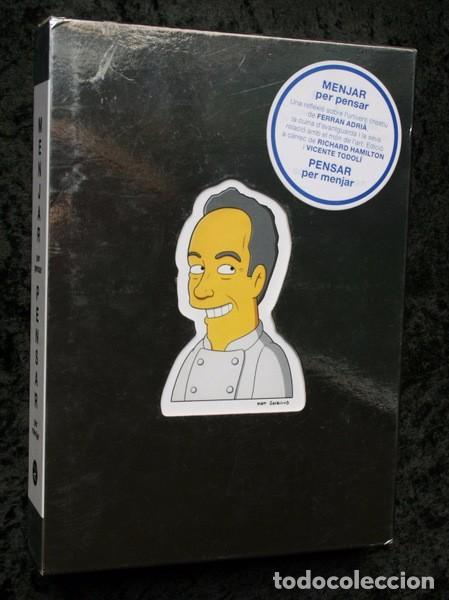 MENJAR PER PENSAR - PENSAR PER MENJAR - EL BULLI - FERRAN ADRIA - HAMILTON - TODOLI (Libros de Segunda Mano - Cocina y Gastronomía)