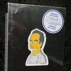 Libros de segunda mano: MENJAR PER PENSAR - PENSAR PER MENJAR - EL BULLI - FERRAN ADRIA - HAMILTON - TODOLI. Lote 103970023