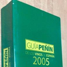 Libros de segunda mano: GUÍA PEÑIN DE LOS VINOS DE ESPAÑA 2005. JOSÉ PEÑÍN. ED. PEÑÍN. ANAYA. MADRID, 2005.. Lote 104211031