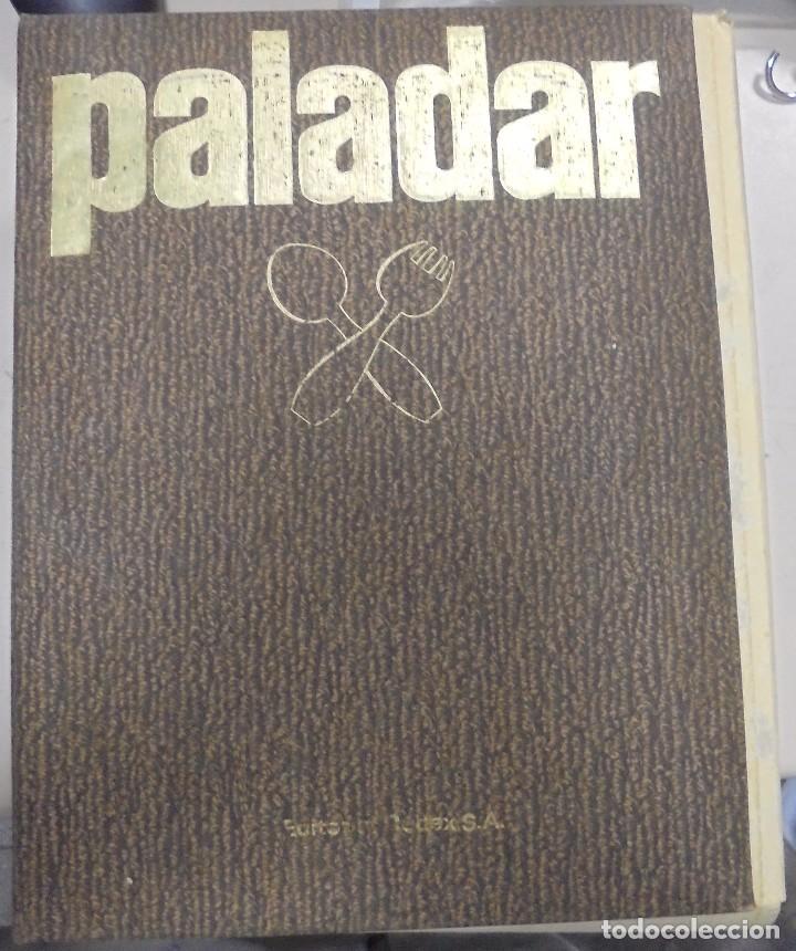 PALADAR. 4 TOMOS. EDITORIAL CODEX. CUADERNILLOS. VER FOTOS (Libros de Segunda Mano - Cocina y Gastronomía)
