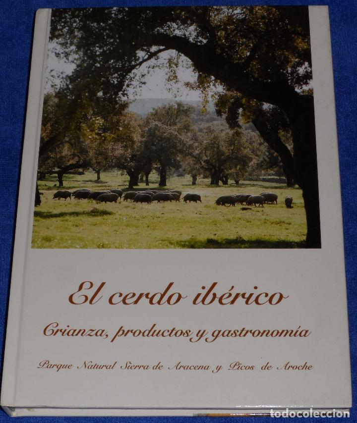 El cerdo Ibérico - Crianza, productos y gastronomía - Iniciativas Leader Sierra de Aracena (1998) segunda mano
