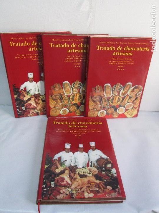TRATADO DE CHARCUTERIA ARTESANA. VOLUMEN 1 (1 Y 2) VOL 2 (3 Y 4). MARCEL COTTENCEAU, JEAN (Libros de Segunda Mano - Cocina y Gastronomía)