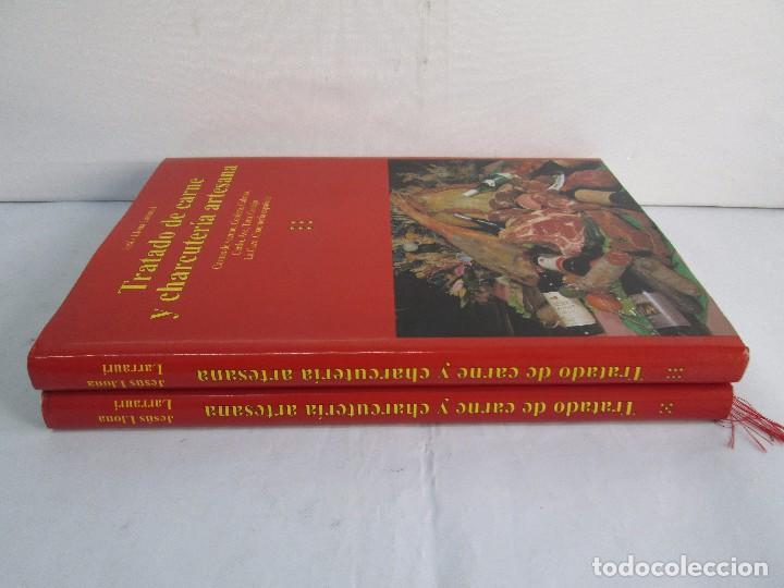 Libros de segunda mano: TRATADO DE CARNE Y CHARCUTERIA ARTESANA. JESUS LLONA LARRAURI. EDITA HEGAR MONSA 1998 - Foto 2 - 104992895