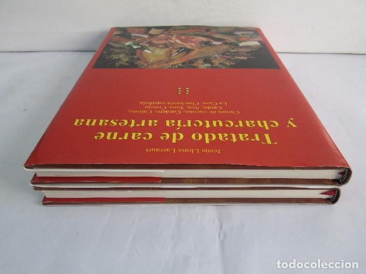 Libros de segunda mano: TRATADO DE CARNE Y CHARCUTERIA ARTESANA. JESUS LLONA LARRAURI. EDITA HEGAR MONSA 1998 - Foto 5 - 104992895